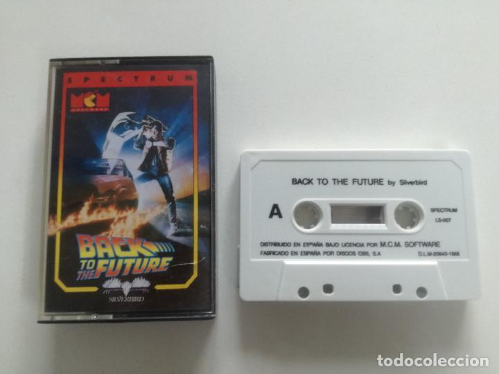 BACK TO THE FUTURE - JUEGO SPECTRUM CASETE MCM 1988 // SINCLAIR CASSETTE (Juguetes - Videojuegos y Consolas - Spectrum)