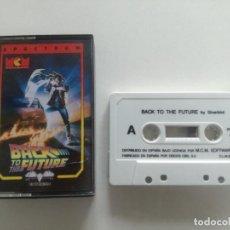 Videojuegos y Consolas: BACK TO THE FUTURE - JUEGO SPECTRUM CASETE MCM 1988 // SINCLAIR CASSETTE. Lote 200739371