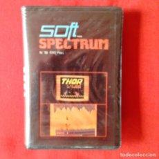 Videojuegos y Consolas: THOR Y LA CRIA DE DRAGON. SOFT PARA SPECTRUM N 18. EDITA GTS RBA 1986 CASETE. Lote 201219075