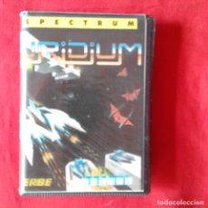 Videojuegos y Consolas: URIDIUM HEWSON ERBE SPECTRUM CASETE ESTUCHE. Lote 201221228
