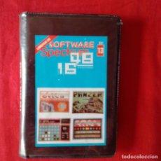 Videojuegos y Consolas: LIBRERIA DE SOFTWARE SPECTRUM 48/16 N 13: CALD, 4 EN RAYA, PANZER, DELTA. GTS. Lote 201221896