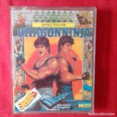 Videojuegos y Consolas: DRAGONNINJA ERBE DATA EAST SPECTRUM CASETE 1988. Lote 201241617