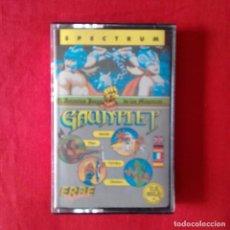 Videojuegos y Consolas: GAUNTLET ERBE SPECTRUM CASETE 1986 CASETE. Lote 201256935
