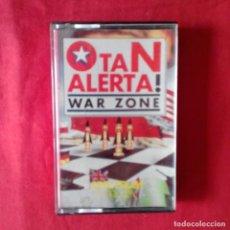 Videojuegos y Consolas: OTAN ALERTA! WAR ZONE SPECTRUM JUEGOS & ESTRATEGIA HOBBY PRESS CASETE. Lote 201262153