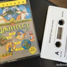Videojuegos y Consolas: JUEGO ZX SPECTRUM 48K - GAUNLET (US GOLD). Lote 201827212