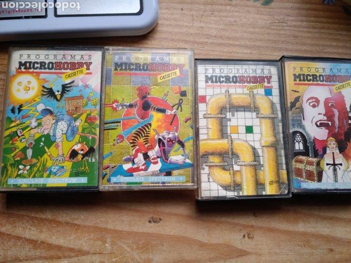 2 LOTE SPECTRUM MICROHOBBY (Juguetes - Videojuegos y Consolas - Spectrum)