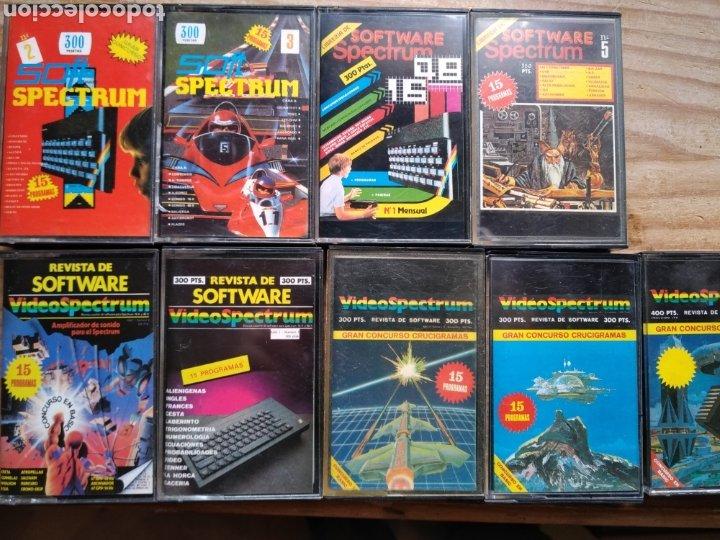 9 CASETE SPECTRUM DE REVISTAS (Juguetes - Videojuegos y Consolas - Spectrum)