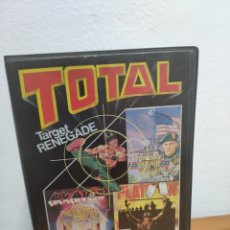 Videojogos e Consolas: TOTAL - SPECTRUM - TAGET RENEGADE, COMBAT SCHOOL, ARKANOID II, PLATOON - CINTA CASSETTE. Lote 202873861