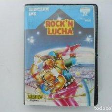 Videojuegos y Consolas: ROCK'N LUCHA / ESTUCHE / SINCLAIR ZX SPECTRUM / RETRO VINTAGE / CASSETTE - CINTA. Lote 202964270