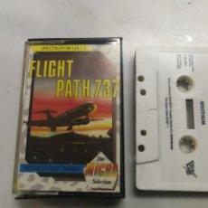 Videojuegos y Consolas: FLIGHT PATH 737 MICRO SELECCION JUEGO SPECTRUM 48/128/+2 - CASETEE VIDEOJUEGO ORDENADOR. Lote 203401767
