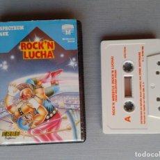 Videojuegos y Consolas: SINCLAIR ZX SPECTRUM ROCK´N LUCHA CAJA ESTUCHE ACOLCHADO VERSION ESPAÑA 48K 128K R11003. Lote 205255785