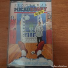 Videojuegos y Consolas: CASSETTE MICROHOBBY ANO I Nº 11 SPECTRUM IMPECABLE. Lote 205590170