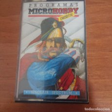 Videojuegos y Consolas: CASSETTE MICROHOBBY ANO I Nº 7 SPECTRUM IMPECABLE. Lote 205590970