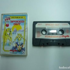 Videojuegos y Consolas: SPACED OUT / JEWEL CASE / SINCLAIR ZX SPECTRUM / RETRO VINTAGE / CASSETTE - CINTA. Lote 205791801