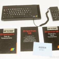 Jeux Vidéo et Consoles: CONSOLA SINCLAIR ZX SPECTRUM 128K CON DOCUMENTACIÓN - 128 K. Lote 205852810