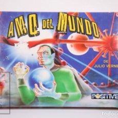 Videojuegos y Consolas: VIDEOJUEGO / JUEGO PRECINTADO PARA SPECTRUM - AMO DEL MUNDO, DE JULIO VERNE - POSITIVE, AÑOS 80-90. Lote 206892847