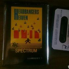 Videojuegos y Consolas: HEADBANGERS HEAVEN, JUEGO CASETE SPECTRUM. Lote 208081090