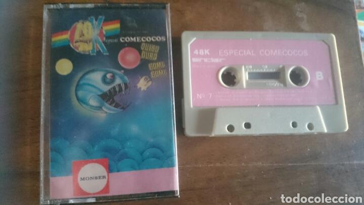 ESPECIAL COMECOCOS, MONSER JUEGO CASETE SPECTRUM (Juguetes - Videojuegos y Consolas - Spectrum)