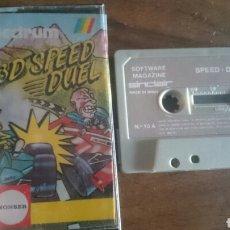 Videojuegos y Consolas: SPEED DUEL, MONSER JUEGO CASETE SPECTRUM. Lote 208771420