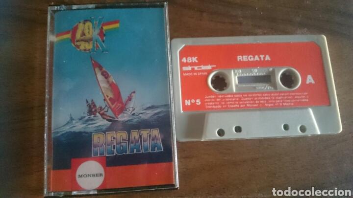 REGATA, MONSER JUEGO CASETE SPECTRUM (Juguetes - Videojuegos y Consolas - Spectrum)