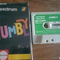 Videojuegos y Consolas: JUMBLY, MONSER JUEGO CASETE SPECTRUM. Lote 208772176