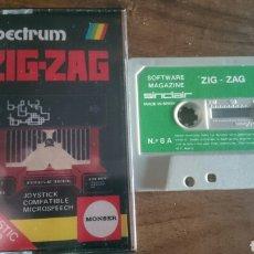 Videojuegos y Consolas: ZIG-ZAG, MONSER JUEGO CASETE SPECTRUM. Lote 208772566