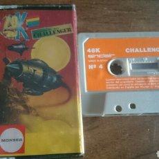 Videojuegos y Consolas: CHALLENGER, MONSER JUEGO CASETE SPECTRUM. Lote 208773030