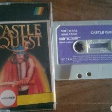 Videojuegos y Consolas: CASTLE QUEST, MONSER JUEGO CASETE SPECTRUM. Lote 208773183