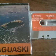 Videojuegos y Consolas: AGUASKI, SINCLAIR JUEGO CASETE SPECTRUM. Lote 208774711