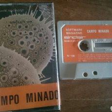 Videojuegos y Consolas: CAMPO MINADO, SINCLAIR JUEGO CASETE SPECTRUM. Lote 208775170