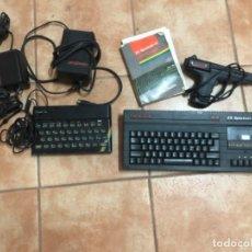 Videojogos e Consolas: LOTE SPECTRUM 2PLUS 2+ Y ZX DE TECLAS DE GOMA CON PISTOLA, MANUAL ETC ORDENADOR CLÁSICO. Lote 209357015