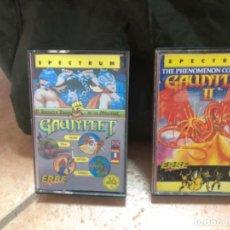 Videojuegos y Consolas: GAUNTLET I Y GAUNTLET II SPECTRUM. Lote 209362466
