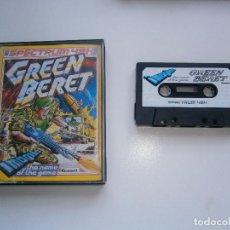 Videojuegos y Consolas: JUEGO DE SPECTRUM - GREEN BERET - CAJA DOBLE - IMAGINE. Lote 210266890