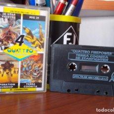 Videojuegos y Consolas: JUEGOS SPECTRUM. QUATTRO FIREPOWER. 4 JUEGOS. CODEMASTERS. Lote 210559901