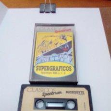 Videojuegos y Consolas: SUPERGRAFICOS. SPECTRUM.. Lote 210629695