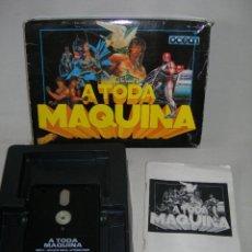 Videojuegos y Consolas: JUEGO EN DISCO A TODA MÁQUINA DE SINCLAIR SPECTRUM CON 5 JUEGOS - BATMAN, ROBOCOP, RAMBO III, ETC -. Lote 210715799