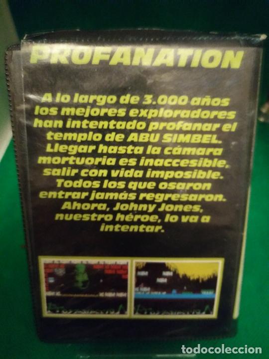 Videojuegos y Consolas: ABU SIMBEL PROFANATION 1986 DINAMIC ORIGINAL ESTUCHE DINAMIC SINCLAIR SPECTRUM - Foto 2 - 211578619
