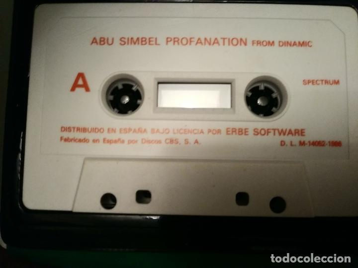 Videojuegos y Consolas: ABU SIMBEL PROFANATION 1986 DINAMIC ORIGINAL ESTUCHE DINAMIC SINCLAIR SPECTRUM - Foto 3 - 211578619