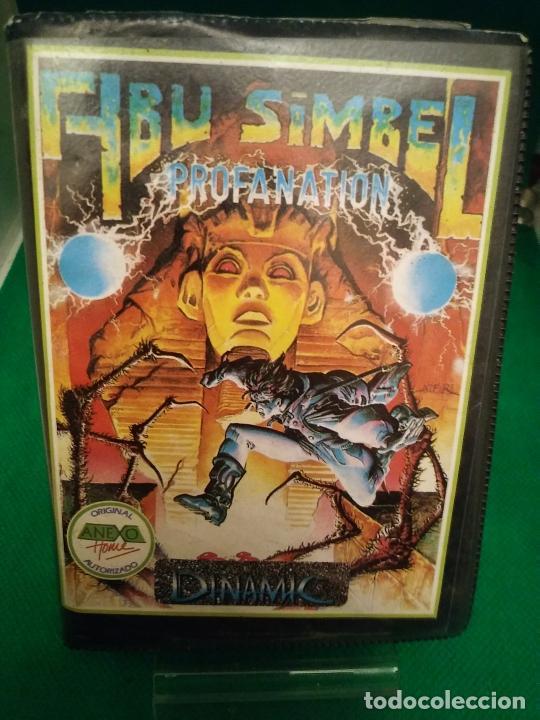 ABU SIMBEL PROFANATION 1986 DINAMIC ORIGINAL ESTUCHE DINAMIC SINCLAIR SPECTRUM (Juguetes - Videojuegos y Consolas - Spectrum)