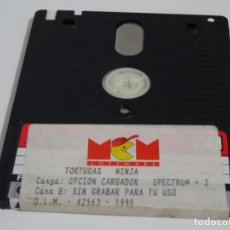 Videojogos e Consolas: SPECTRUM +3 DISC - TORTUGAS NINJA MCM SINCLAIR. Lote 212948437