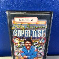 Videogiochi e Consoli: ZX SPECTRUM- DALEY THOMPSON'S SUPER-TEST. Lote 213303896