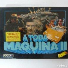 Videojogos e Consolas: A TODA MÁQUINA 2 / SINCLAIR ZX SPECTRUM / VER FOTOS / RETRO VINTAGE CASSETTE. Lote 214418957