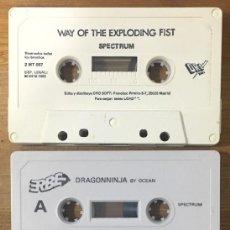Videojuegos y Consolas: SPECTRUM PACK 3 JUEGOS SUELTOS - DRAGON NINJA, RENEGADE 3, WAY OF THE EXPLODING FIST. Lote 214735932