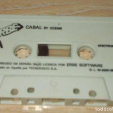 Jeux Vidéo et Consoles: JUEGO SPECTRUM. CABAL. OCEAN / ERBE. Lote 215149888