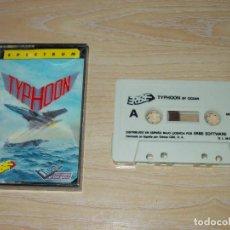 Jeux Vidéo et Consoles: JUEGO SPECTRUM. TYPHOON. IMAGINE / ERBE . LOMO ROSA. Lote 215151508