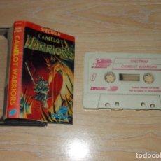 Jeux Vidéo et Consoles: JUEGO SPECTRUM. CAMELOT WARRIORS, DINAMIC LOMO NARANJA. Lote 215152118