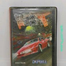 Videojuegos y Consolas: TURBO ESPRIT - SPECTRUM - DURELL - ERBE. Lote 215689706