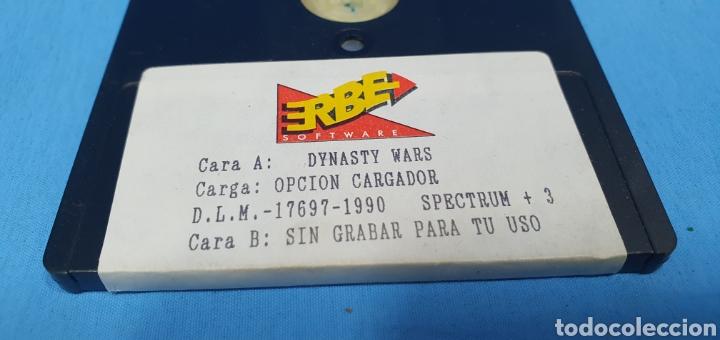 Videojuegos y Consolas: JUEGO PARA SPECTRUM + 3 DYNASTY WARS - ERBE - Foto 3 - 215872083