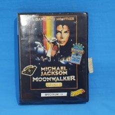 Videojuegos y Consolas: JUEGO PARA SPECTRUM + 3 - MOONWALKER - MICHAEL JACKSON - ERBE. Lote 215873170