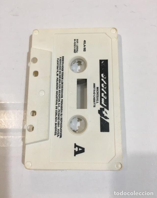 Videojuegos y Consolas: Cassette Amstrad Micro Ball Pinball Sinclair Spectrum - Foto 3 - 216920287